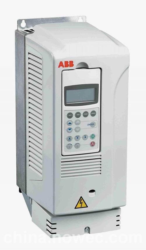 abb变频器acs800系列传动产品最大的优点就是在全功率范围内统一使用